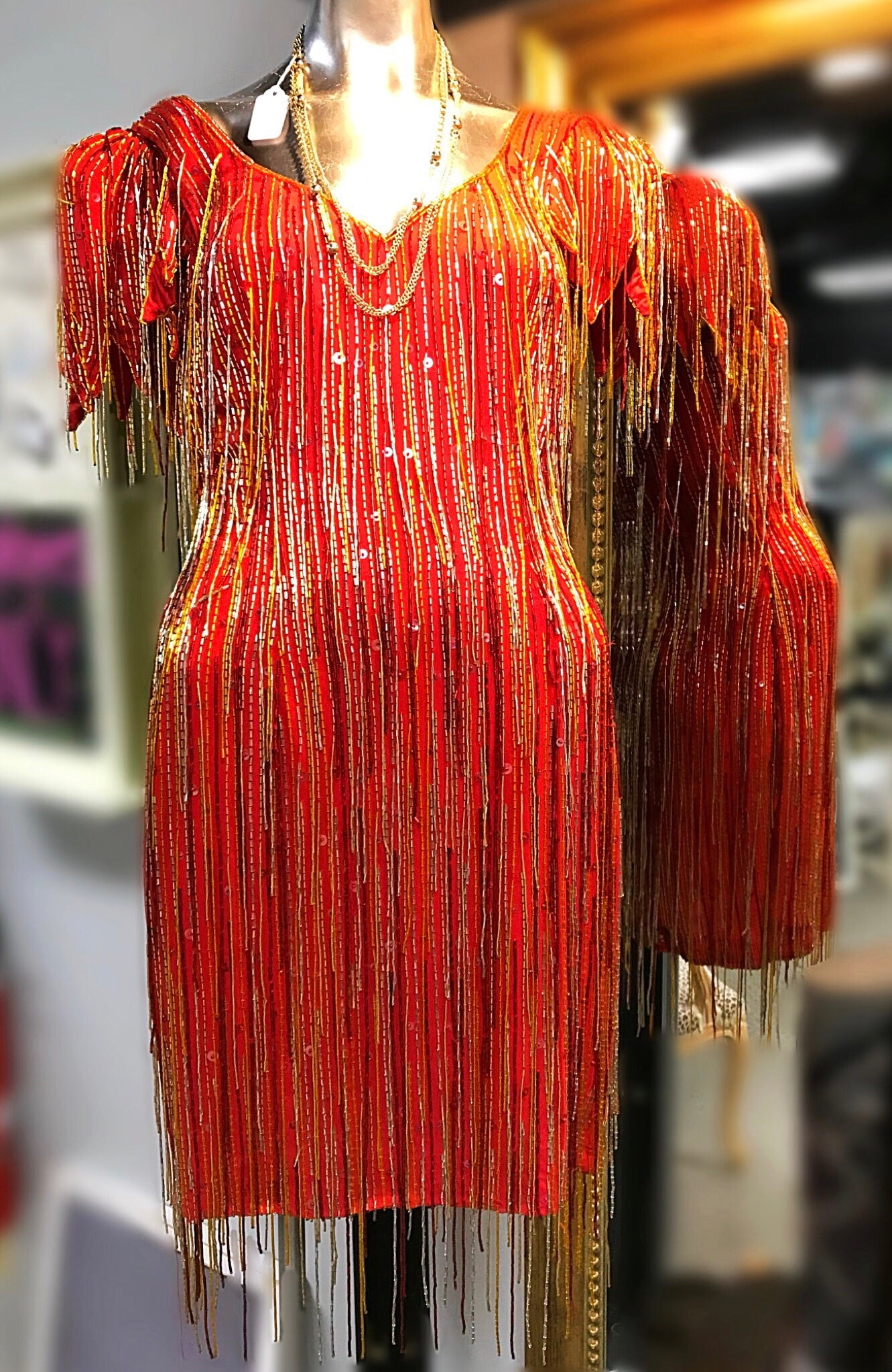 Lillie Rubin  Flapper Dress (8)