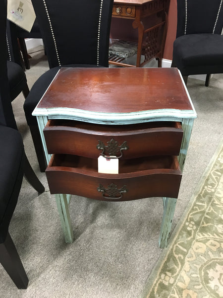 Painted End Table