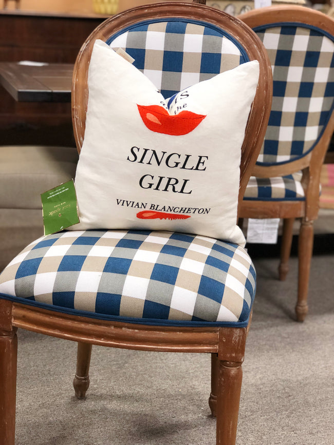 Single Girl Pillow