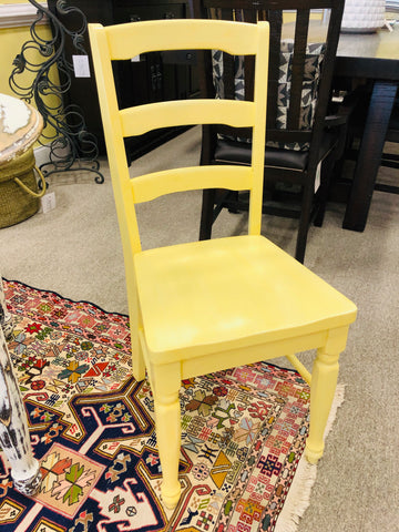 Pair Painted Chairs