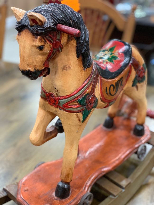 Antique Rocking Horse