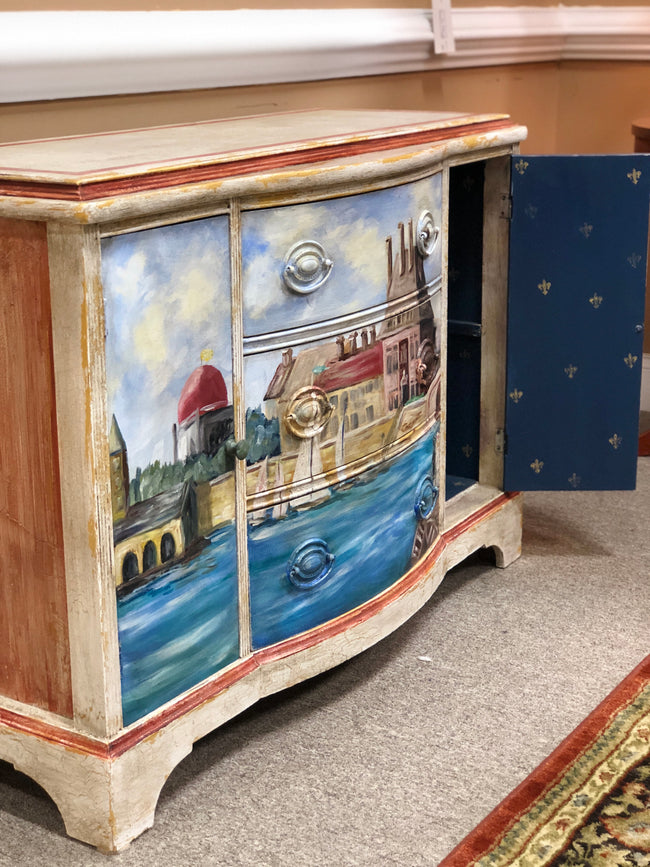 Hand Painted Chest