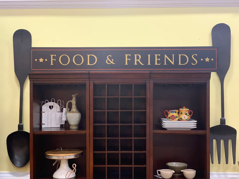 Food & Friends Sign