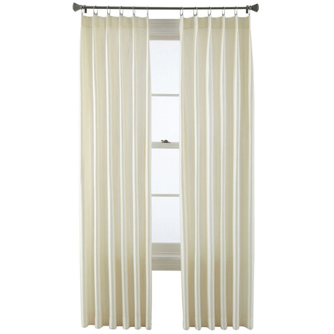 Finley Metal Tab-Top Curtain Panel- Egret
