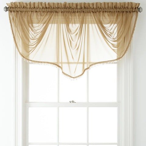 Lisette Imperial Valance- Fawn