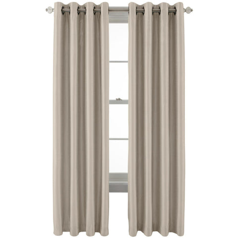 Plaza Grommet-Top Blackout Panel- Traditional Tan