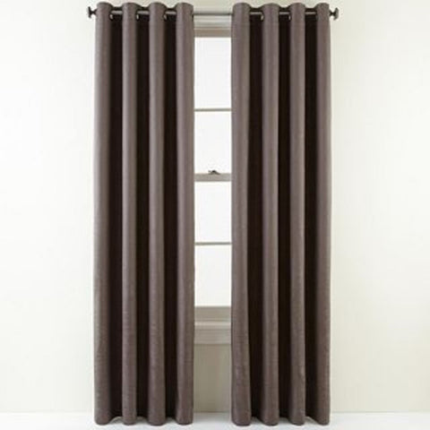 Wings Grommet-Top Panel- Gunmetal Gray