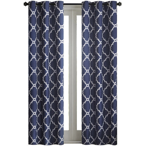 Almaden Printed Fret Grommet-Top Panel- Indigo