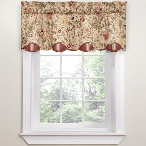Imperial Dress Valance- Antique