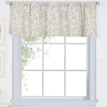 Serene Rod-Pocket Valance- Linen