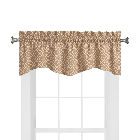 Lovely Lattice Valance- Natural