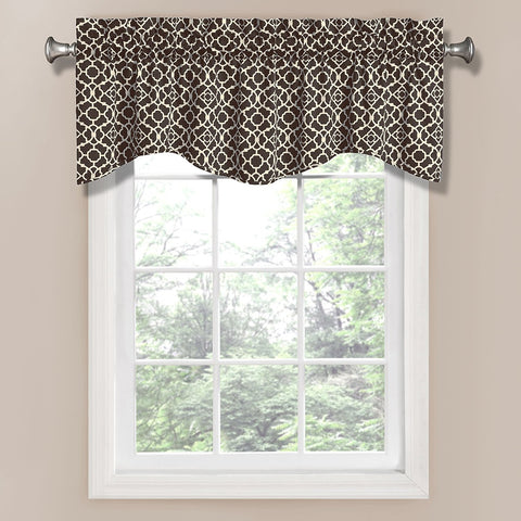 Lovely Lattice Valance- Onyx