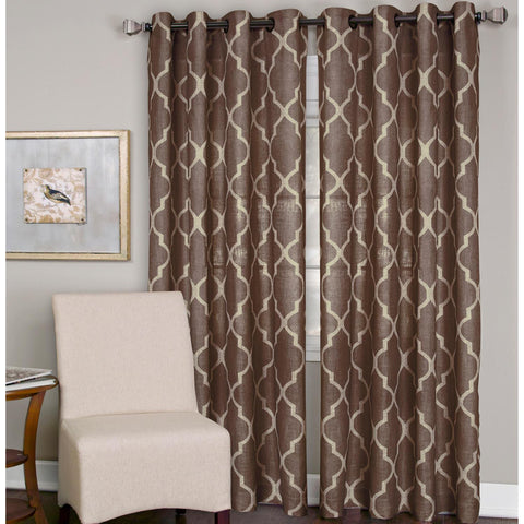 Medalia Grommet-Top Panel- Mocha