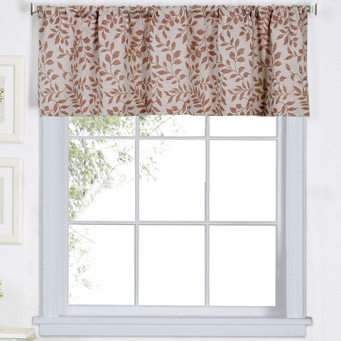 Serene Rod-Pocket Valance- Spice