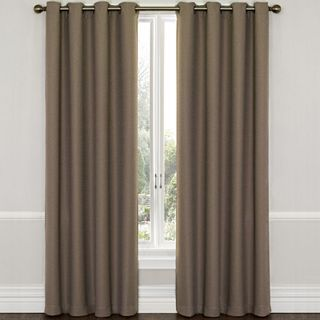 Westbury Room-Darkening Grommet-Top Panel- Mocha