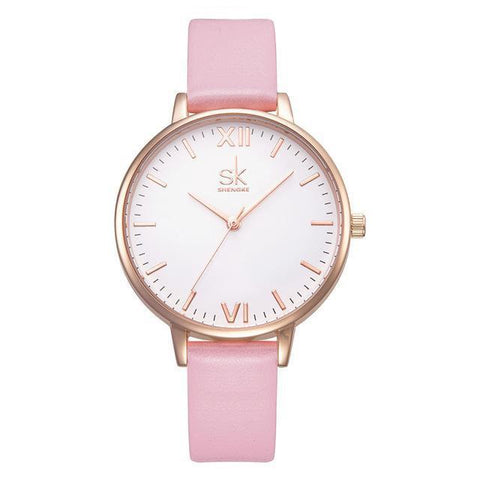 Candyfloss Quartz Watch-Watches-Owlizh-Pink-Owlizh