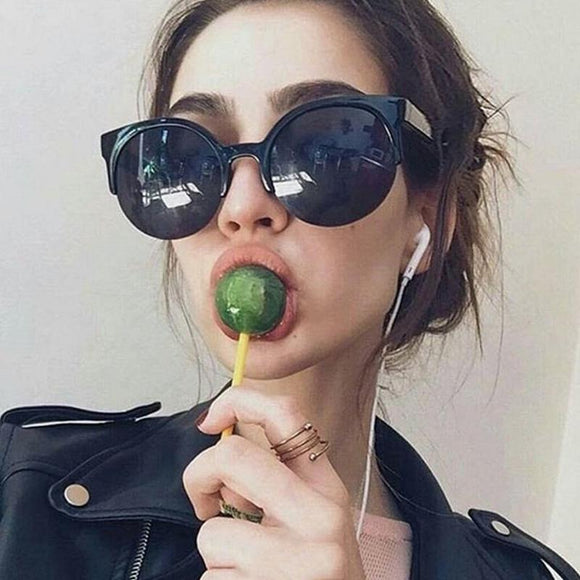 Classic Large Round Sunglasses - Owlizh