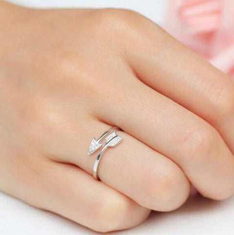 Cupid's Arrow Ring-Ring-Owlizh-Owlizh