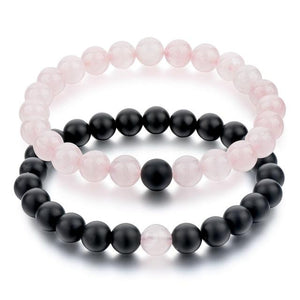 Lovers Natural Stone Bracelets - Owlizh