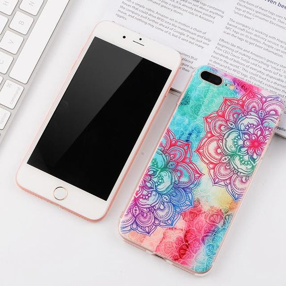 Mandala Spirit iPhone Case (For iPhone 6 to X) - Owlizh