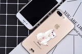 Reaching Kitty Apple iPhone Case (For iPhone 6 to X) - Owlizh