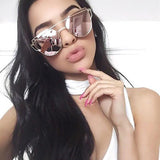 Selena Cat Eye Pink Anti-Reflective Sunglasses-Sunglasses-Owlizh-Owlizh