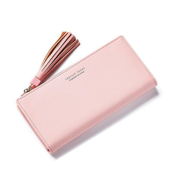 Simple Classic Clutch Wallet-Wallet-Owlizh-Pink-Owlizh