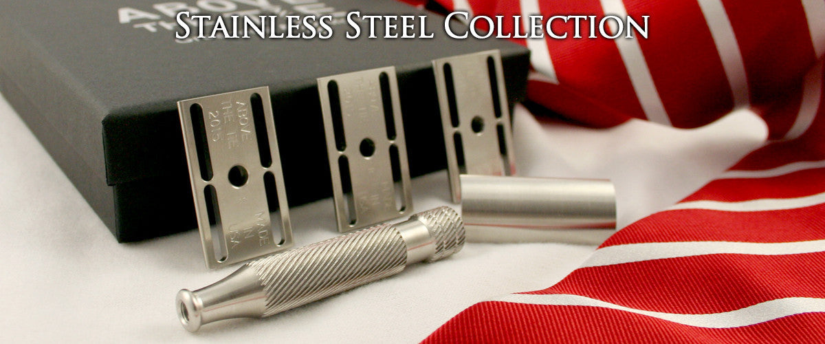 Above the Tie, Stainless Steel, Feel the Difference image