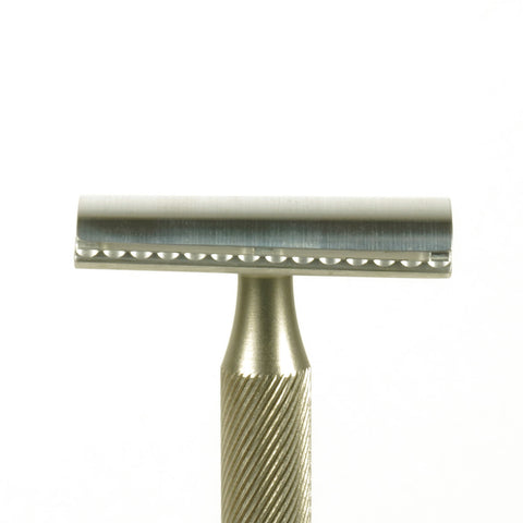 Single Edge Slant X1 Safety Razor Prototype