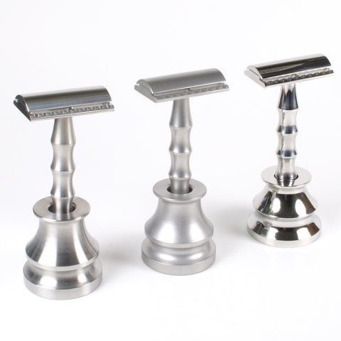Above the Tie Razors in Matte Satin Polished