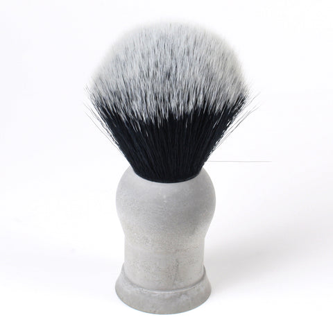 Above the Tie Cement Shaving Brush - Synthetic Timber Wolf Knot