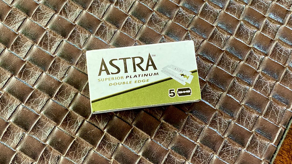 Astra Superior Platinum Double Edge Blades
