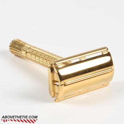 24K Gold Gillette Flare Tip Super Speed - Above the Tie