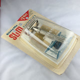 Gillette Slim Adjustable with Case NOS Never Opened - Above the Tie
