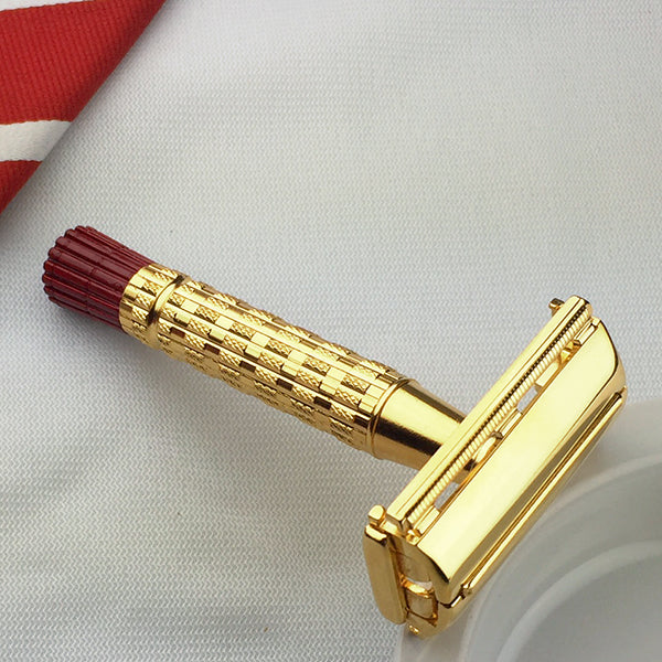 24K Gold Gillette Red Tip - Above the Tie