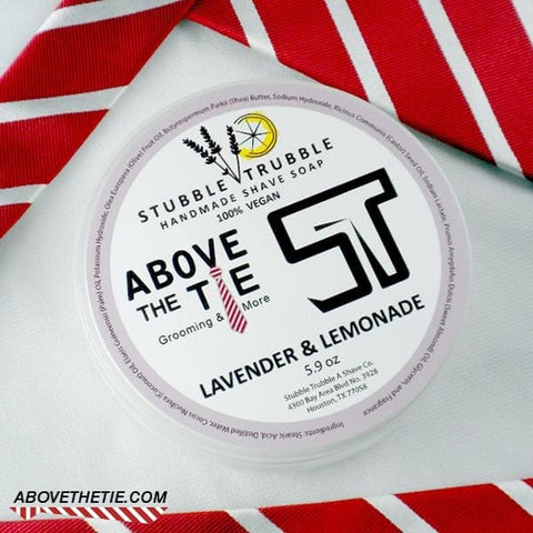 Above The Tie Lavendar & Lemonade Artisan Shave Soap - Above the Tie