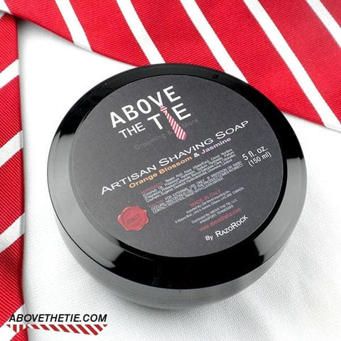 Above the Tie Orange Blossom & Jasmine Shaving Soap - Above the Tie
