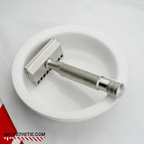 Atlas G1 - Gem Stainless Steel Safety Razor - Above the Tie