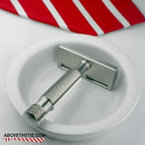 Atlas SE1 Single Edge - Stainless Steel Safety Razor - Above the Tie