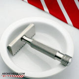 Atlas SE2 Single Edge Open Comb - Stainless Steel Safety Razor - Above the Tie