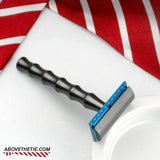 Bamboo H1 - Aluminum Safety Razor - Above the Tie
