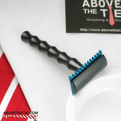 Bamboo H2 - Aluminum Safety Razor - Above the Tie