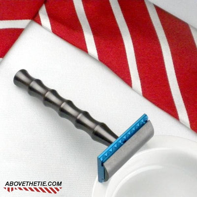 Bamboo M1 - Aluminum Safety Razor - Above the Tie