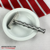 Bamboo SE1 - Stainless Steel Single Edge Safety Razor - Above the Tie