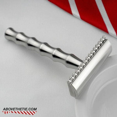 Bamboo SE2 - Stainless Steel Single Edge Safety Razor - Above the Tie
