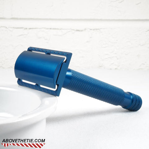 Calypso Blue - Aluminum Safety Razor