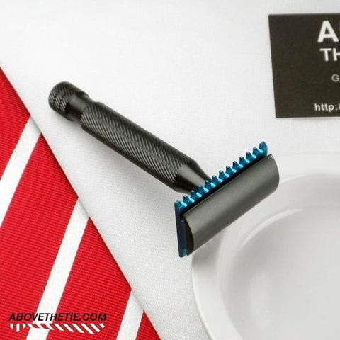Calypso H2 - Aluminum Safety Razor - Above the Tie