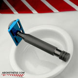 Calypso M1 - Aluminum Safety Razor - Above the Tie