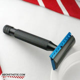 Calypso S1 Slant Solid Bar - Aluminum Safety Razor - Above the Tie