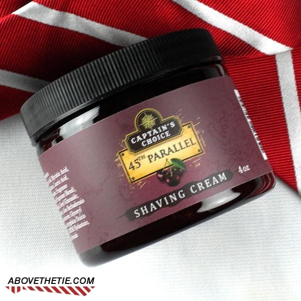Captain's Choice 45th Parallel Shaving Cream - Above the Tie